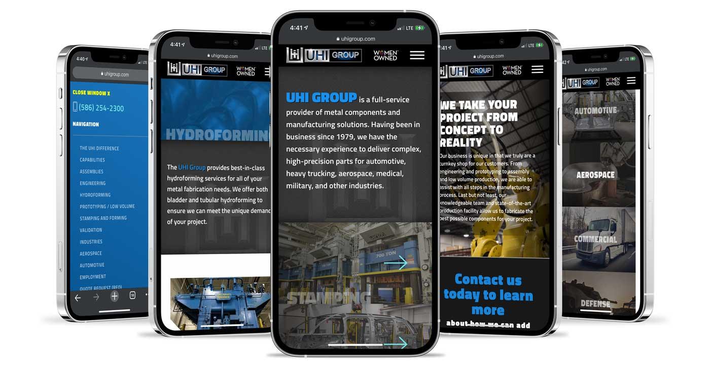 iphone 12 with UHI screenshots