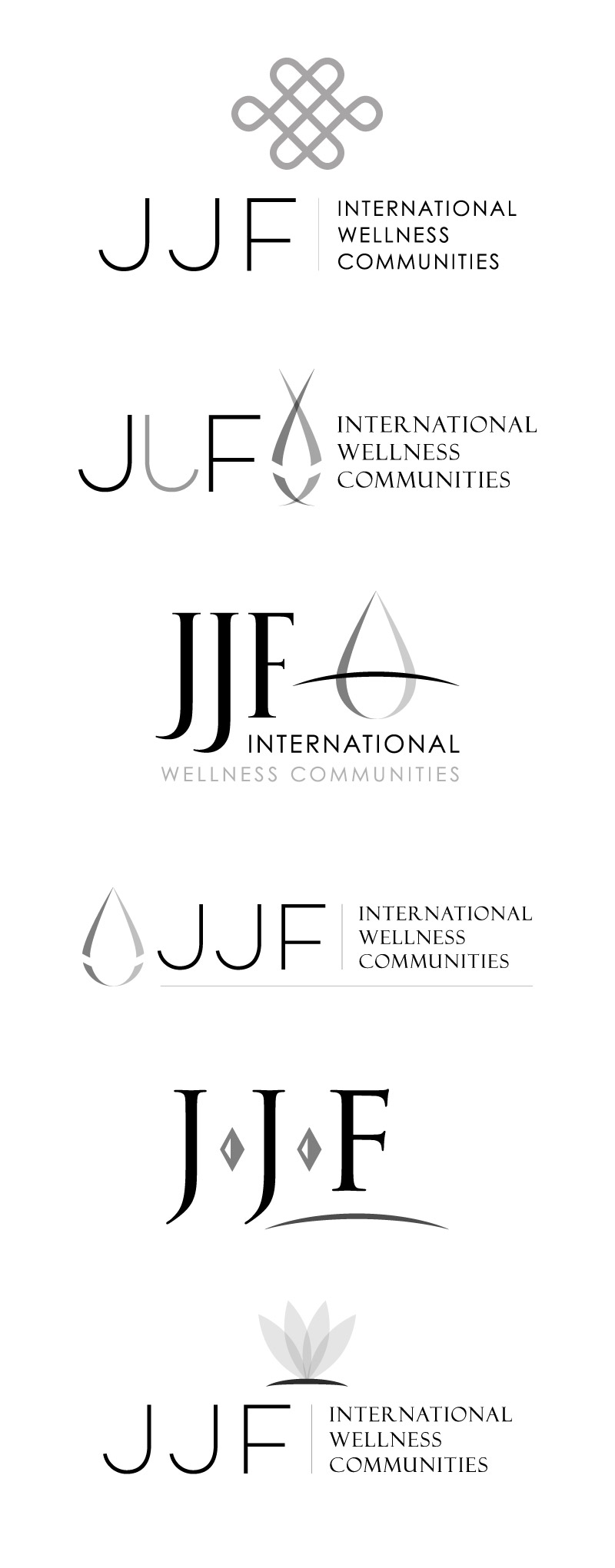 logo design for jjf international by drive creative