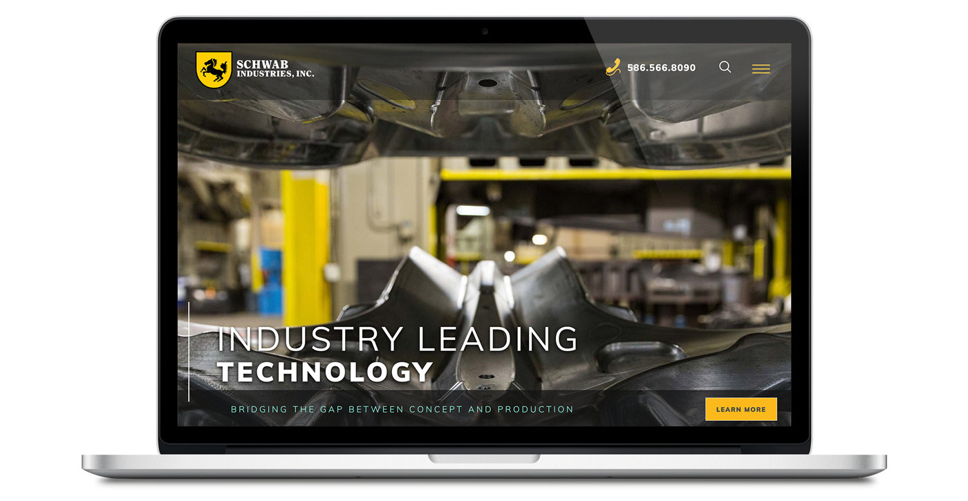 schwab industries website homepage