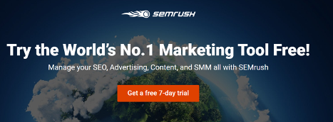 semrush call to action design